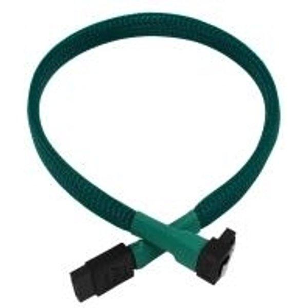 Nanoxia 45cm grünes Kabel für SATA 3.0 (NXS6G4G)