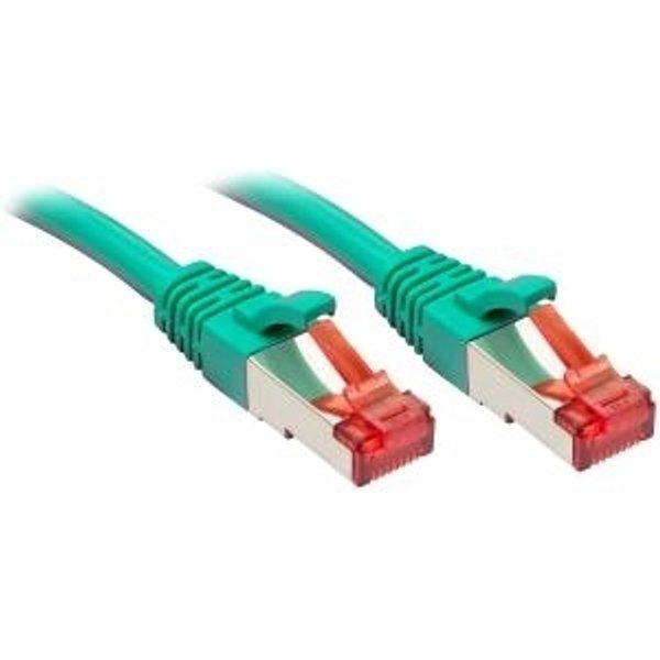 Câble réseau Cat.6 S/FTP, cuivre, 250MHz, vert, 1m