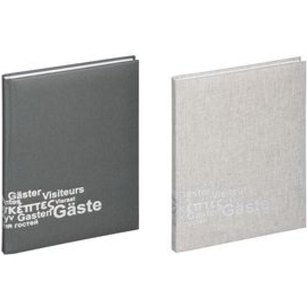 PAGNA Gästebuch Europa 19,5x25,5/192 grau
