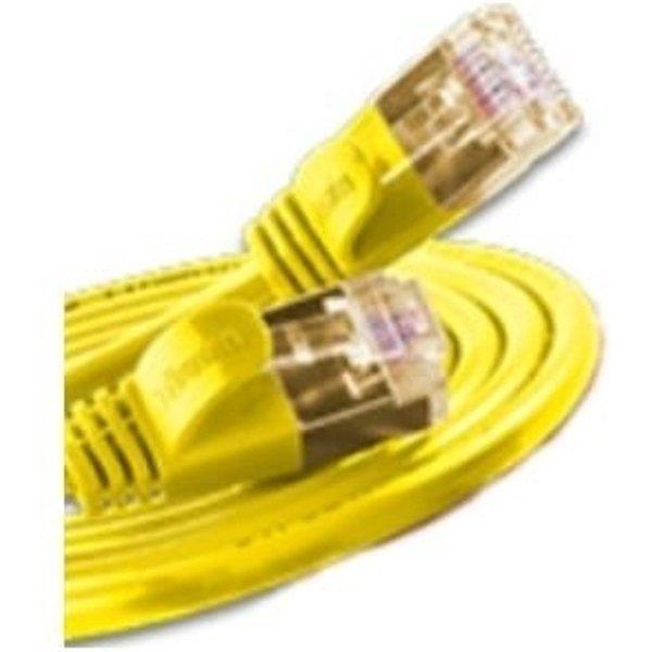 Slim Wirewin RJ45 Netzwerk Anschlusskabel CAT 6 U/FTP 1m Gelb