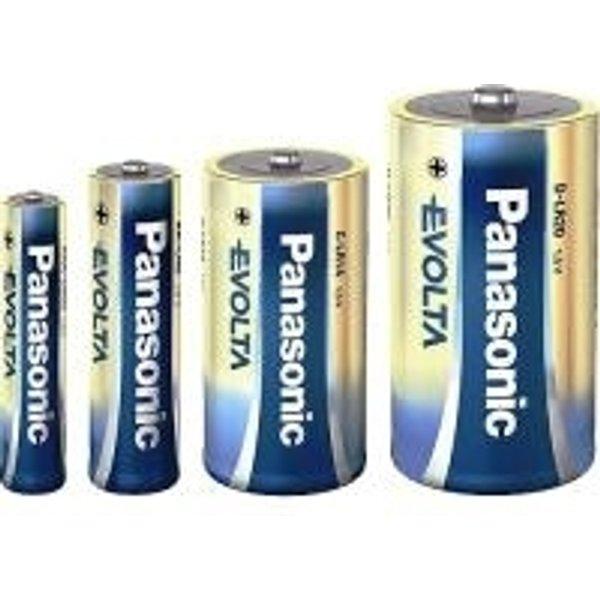 Panasonic Evolta D Einwegbatterie Alkali
