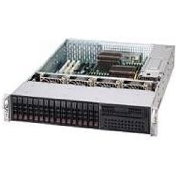 Supermicro SC219 A-R920LPB - rack-montable - 2U