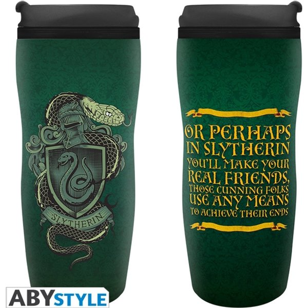 """Wizarding World Figurine Collection - Harry Potter Thermobecher """"Slytherin"""""""