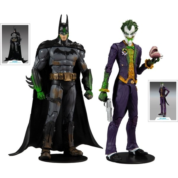 Batman vs Joker Multipack (Batman Arkham Asylum) 7 Inch McFarlane Action Figure