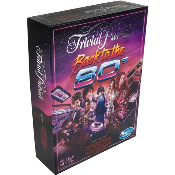 Hasbro Trivial Pursuit - Stranger Things Back To The 80's Edition (E5641)