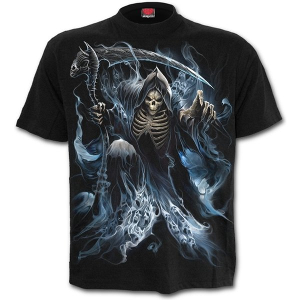 Ghost Reaper Men's XX-Large T-Shirt - Black (K039M101-3)