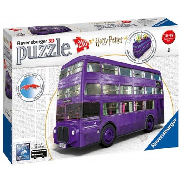 Harry Potter Knight Bus Puzzle