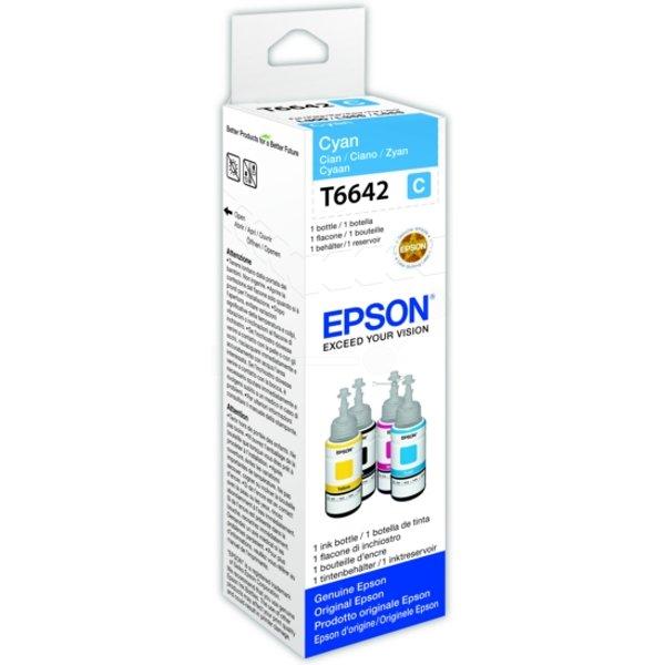 Epson 664 / C 13 T 664240 Tintenpatrone cyan original