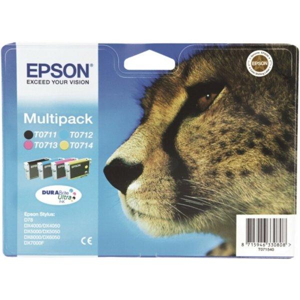 EPSON Tinte für EPSON Stylus D78, DURABrite Ultra Multipack