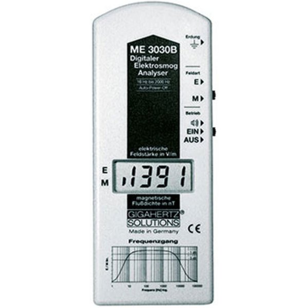 Gigahertz Solutions Kombi-Feldstärkemessgerät ME 3030B