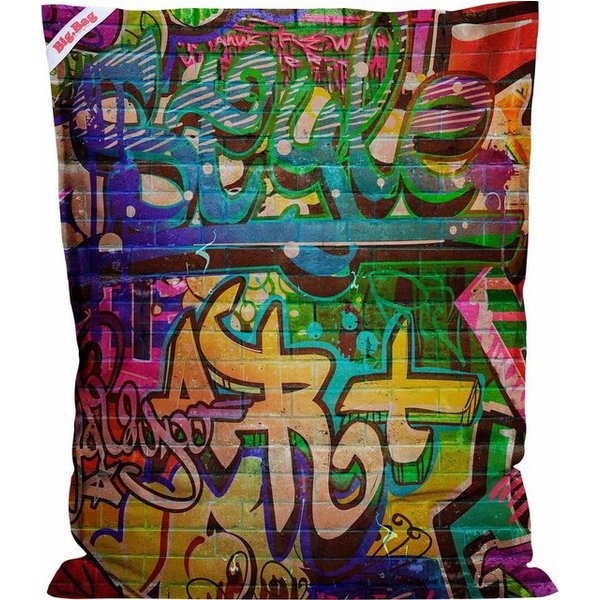 Sitting Point Sitzsack »BigBag Graffiti«