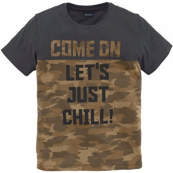 Arizona T-Shirt »Come on, let`s just chill!« Druck