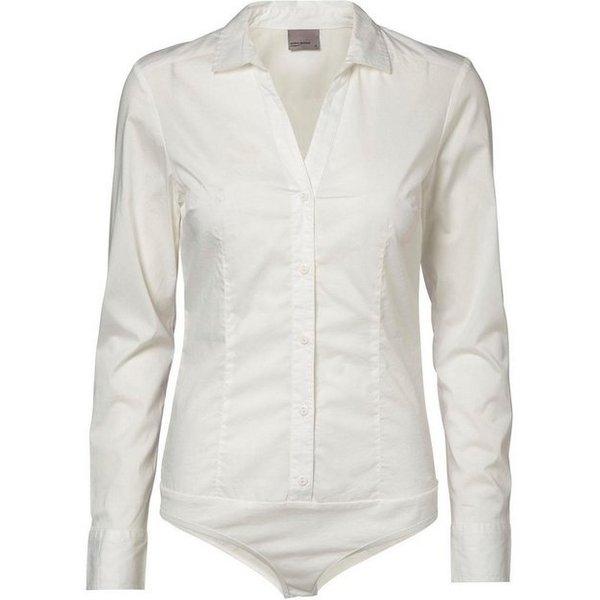 Vero Moda - Body chemise - Blanc