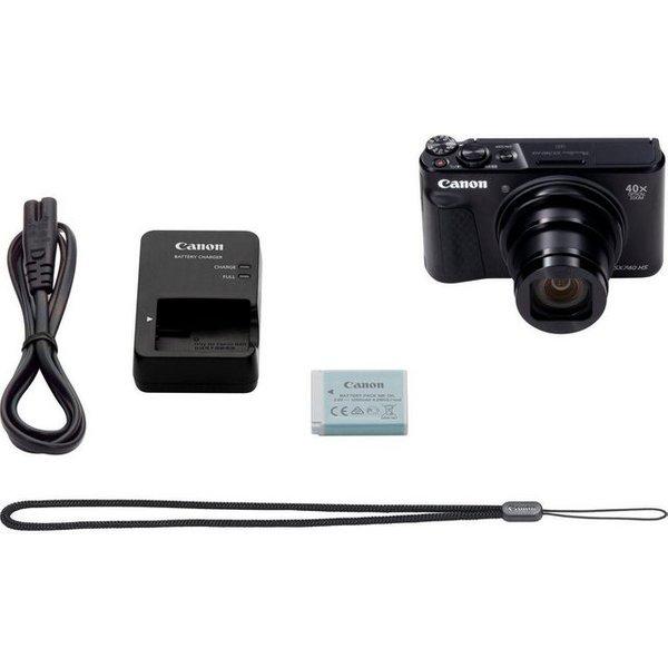 Canon PowerShot SX740 HS Superzoom-Kamera schwarz 20,3 Mio. Pixel