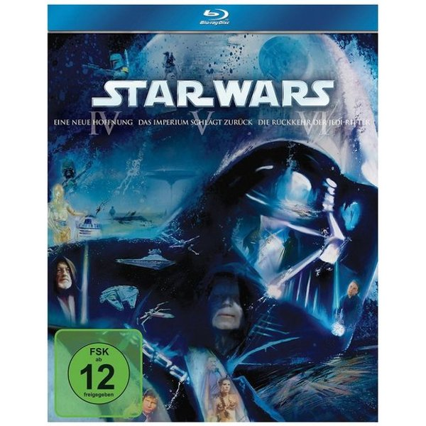 Star Wars Trilogie: Episode Iv-Vi (Blu-ray Disc)