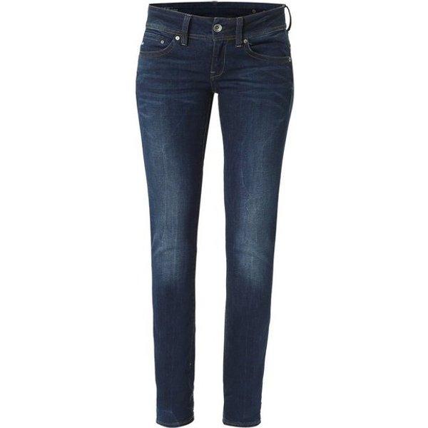 Slim Fit Jeans G-Star Raw D02153 6553 MIDGE SADDLE