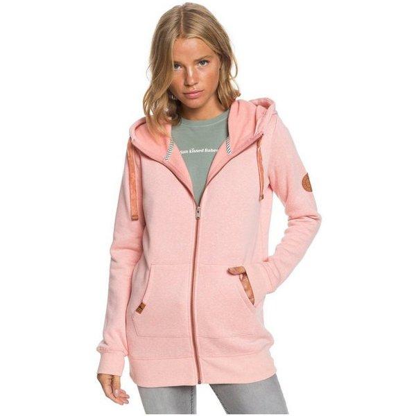 Roxy Long Way Home - Veste à capuche pour Femme - Rose