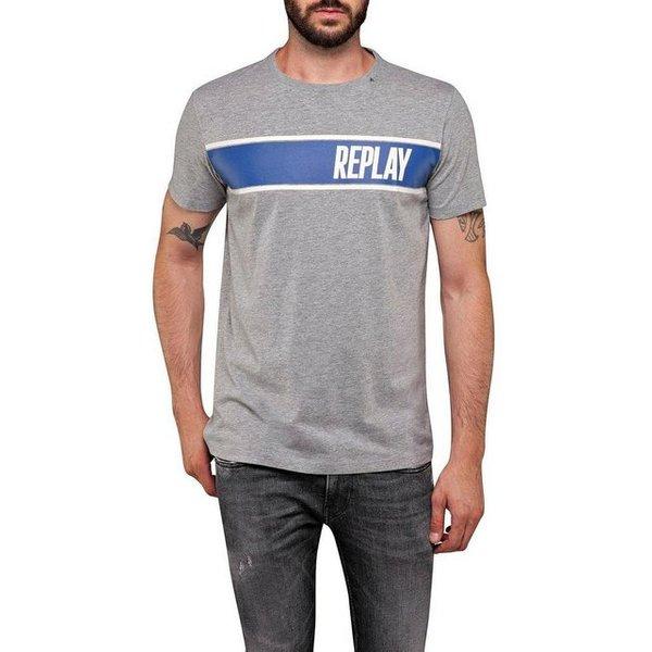 Replay T-Shirt mit modischem Print