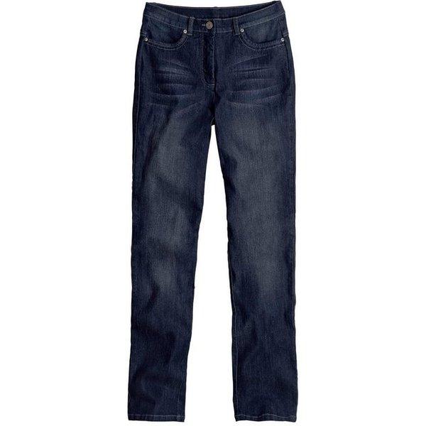 Casual Looks Jeans mit festem Bund und Gürtelschlaufen