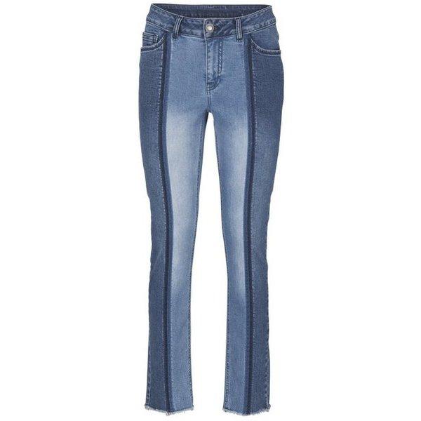 heine CASUAL Jeans mit Two-Tone-Effekt