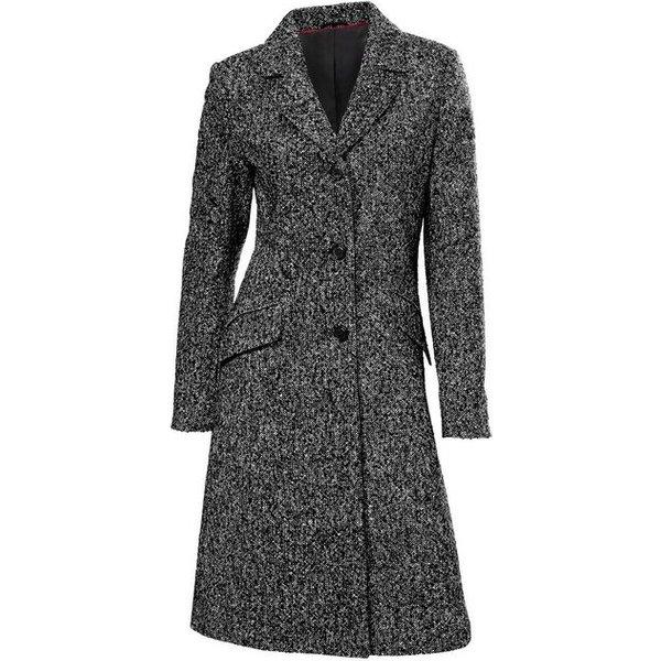 heine STYLE Blazermantel in Tweed-Optik