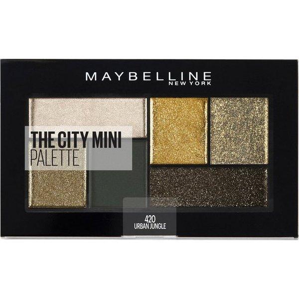 Maybelline Lidschatten Maybelline Lidschatten City Mini Palette  6.0 g