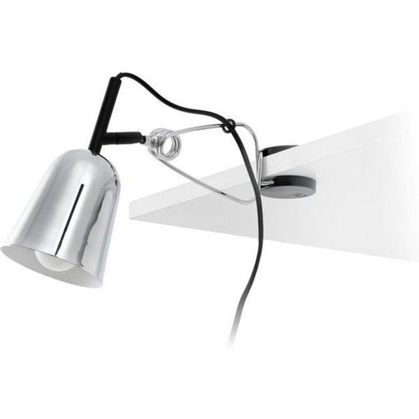Lampe de bureau chrome Studio 1 ampoule