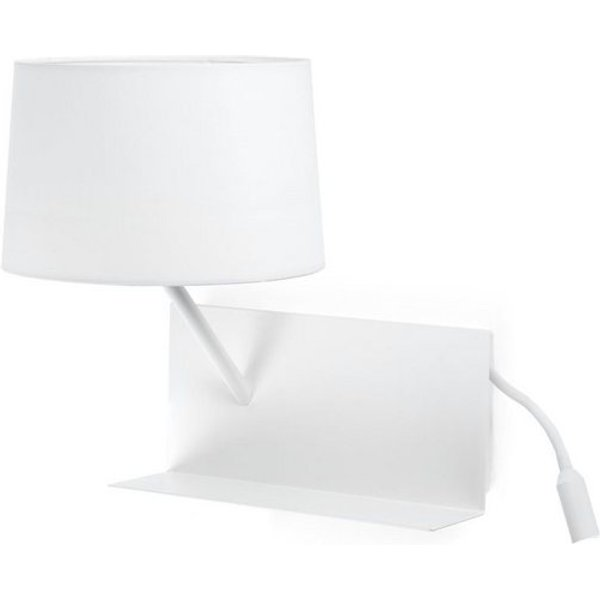 Functional Handy wall lamp with an LED reading arm