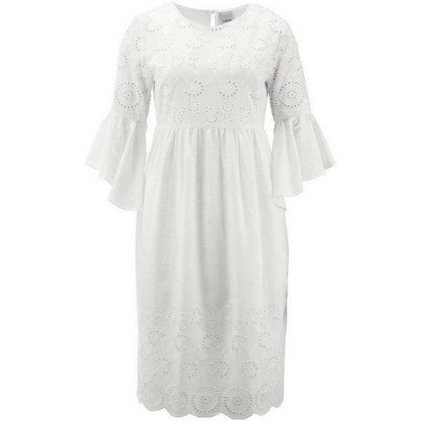 heine CASUAL Kleid mit Volantärmeln