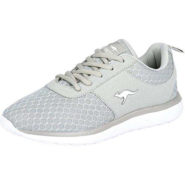 KangaROOS Sneaker mit Mesh-Ware, grau