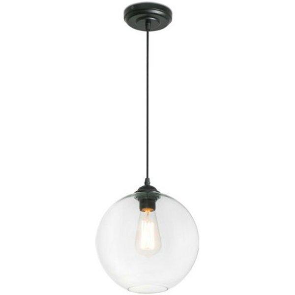 Spherical Clara pendant light - transparent