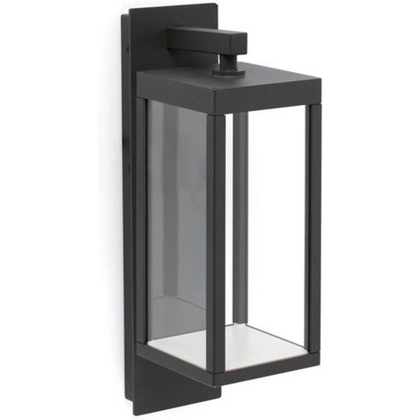 Kerala LED outdoor wall light with a lantern form