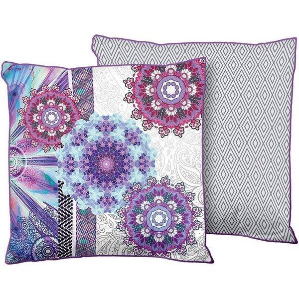 HIP Coussin décoratif 6101-H Jayanti 48 x 48 cm Violet