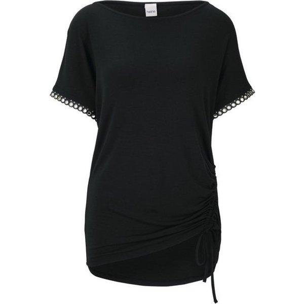 heine STYLE Shirt mit seitlicher Raffung