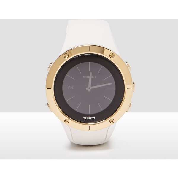 3. Men's Suunto Spartan Trainer Wrist Watch - white/gold, white/gold: £279, Millet Sports