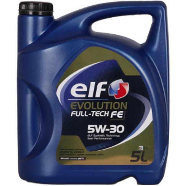 Total Elf Car Engine Motor Oil Evolution Fulltech FE Economy 5W30 - 5L Renault