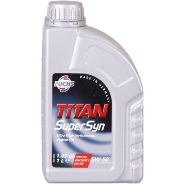 Fuchs Titan Supersyn 5W-50 1 Liter Dose