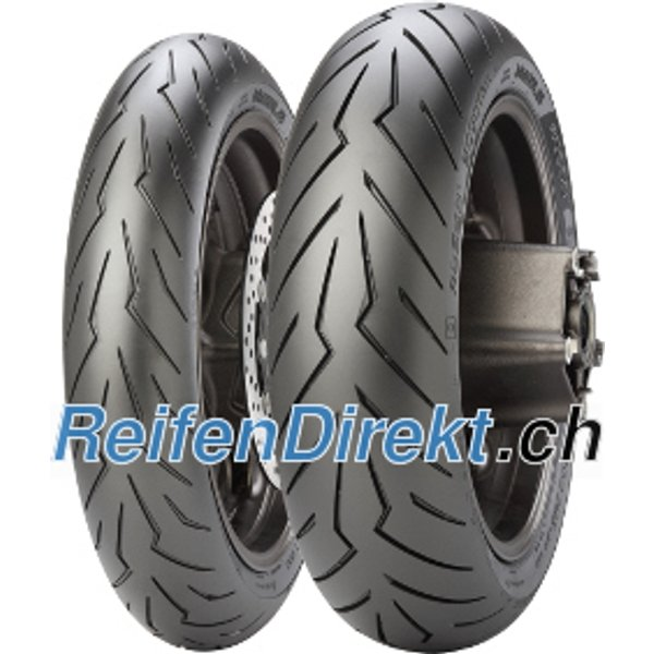 Pirelli Diablo Rosso Scooter ( 160/60 R15 TL 67H Rear wheel, M/C )