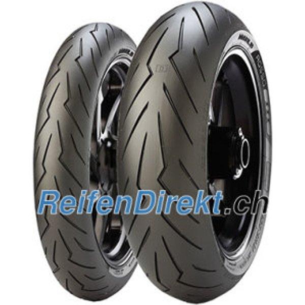 Pirelli Diablo Rosso III ( 180/60 ZR17 TL (75W) Rear wheel, M/C )