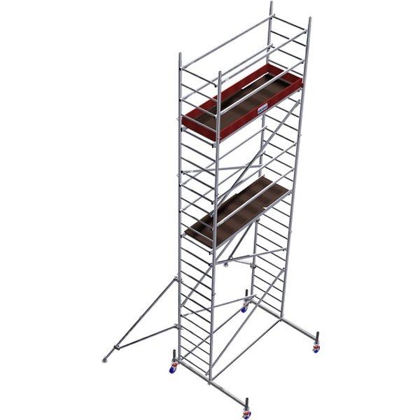 Fahrgerüst »MONTO«, 630 cm Gerüsthöhe