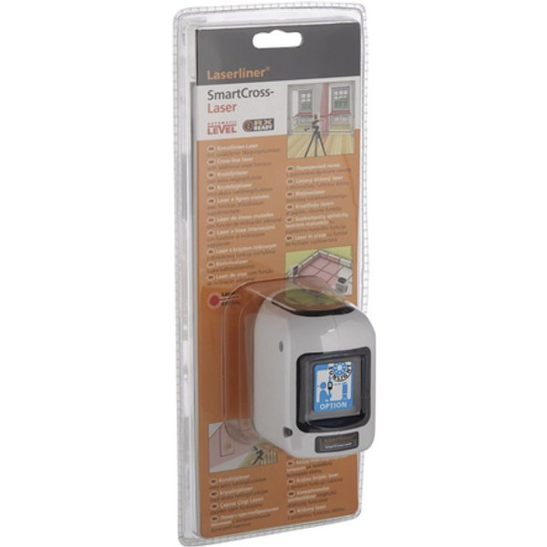 LaserLiner SmartCross Self Levelling Cross Line Laser Level