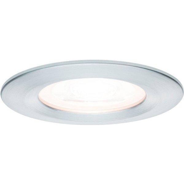Paulmann LED-Spot Nova rund, IP44, 3-fach dimmbar