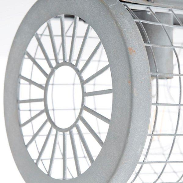 Plafonnier LED Brilliant Net 93421/70 E10 EEC: selon lampoule (A++ - E) 180 W gris béton 1 pc(s)