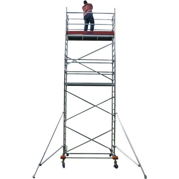 Fahrgerüst »MONTO«, 230 cm Gerüsthöhe