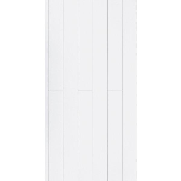 PARADOR Dekorpaneele Novara Seidenmatt Weiss 205 cm