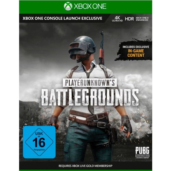 Xbox One - Playerunknown's Battlegrounds (D/f) Box