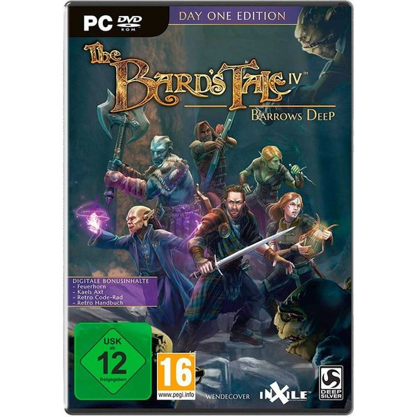 PC - The Bard's Tale IV: Barrows Deep - Day One Edition /F
