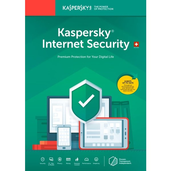 Kaspersky Total Security 3 Devices / 1 User 2019