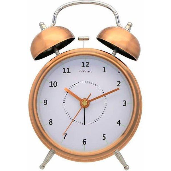 NexTime Réveil réveil cuivre 12 5 cm Du