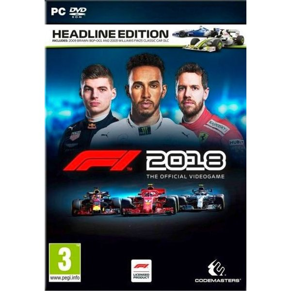 PC - F1 2018 - Headline Edition /D